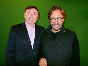 Oleg-Frish-tv-host-and-Al-DiMeola