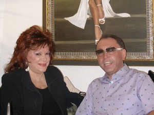 Oleg-Frish-tv-host-and-Connie-Francis