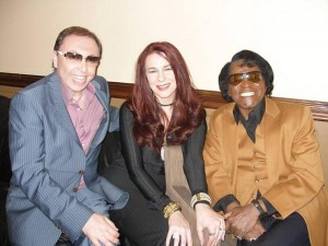 Oleg-Frish-tv-host-and-James-Brown
