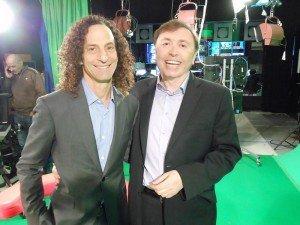 Oleg-Frish-tv-host-and-Kenny-G