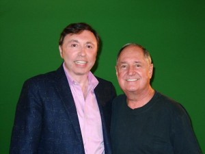 Oleg-Frish-tv-host-and-Neil-Sedaka