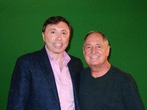 Oleg-Frish-tv-host-and-Neil-Sedaka