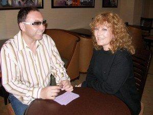 Oleg-Frish-tv-host-and-Petula-Clark