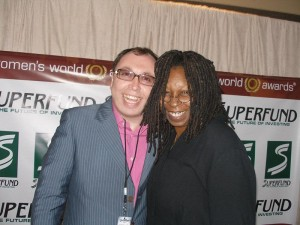 Oleg-Frish-tv-host-and-Whoopi-Goldberg